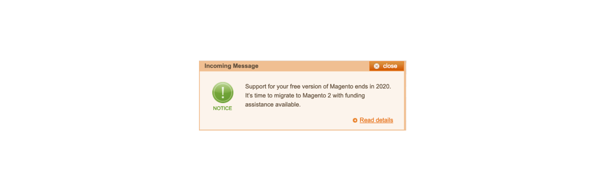 magento support ende